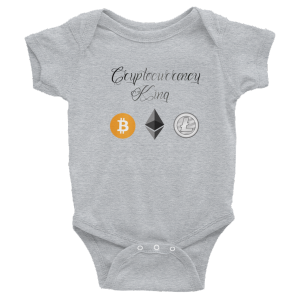 Cryptocurrency King- Infant Bodysuit